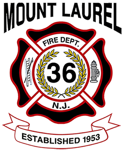 Mt Laurel Fire Dept Logo