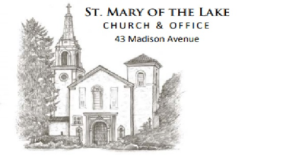 Saint Mary Of The Lake Church-Card